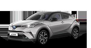 Toyota C-HR - Concessionario Toyota Salerno e Mercogliano